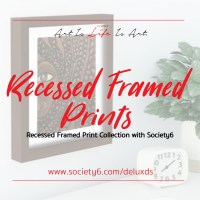 New Recessed Framed Prints Collection with Society6