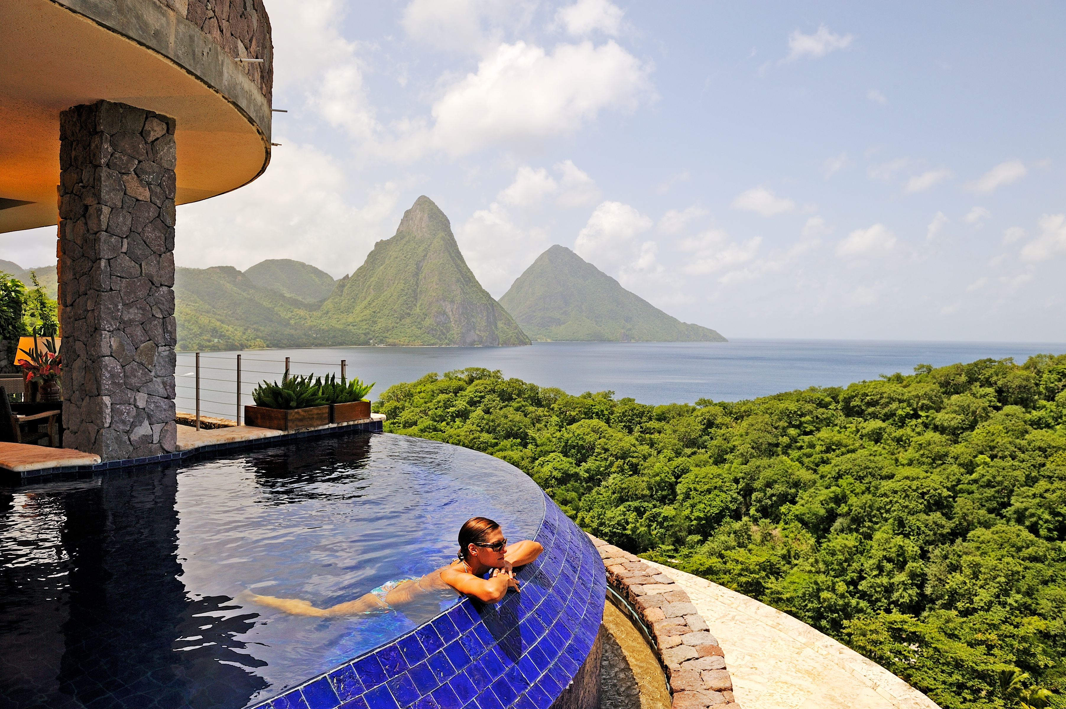 jade mountain resort, st lucia - deluxe-escapesdeluxe-escapes