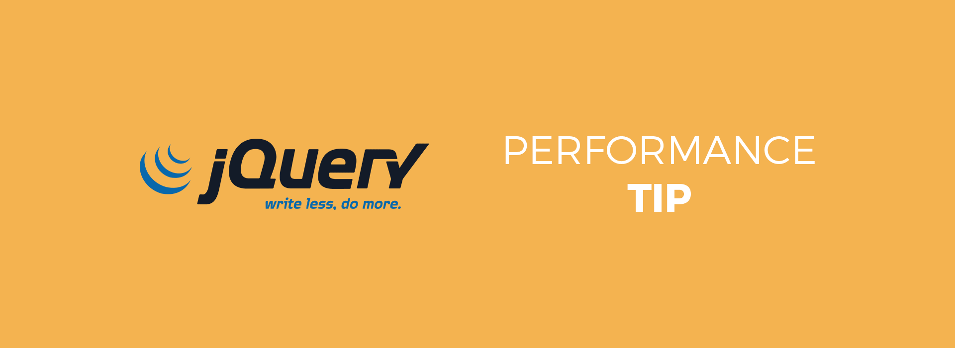 jquery-performance-tip