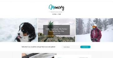Introducing Memory - Our next generation WordPress blog theme