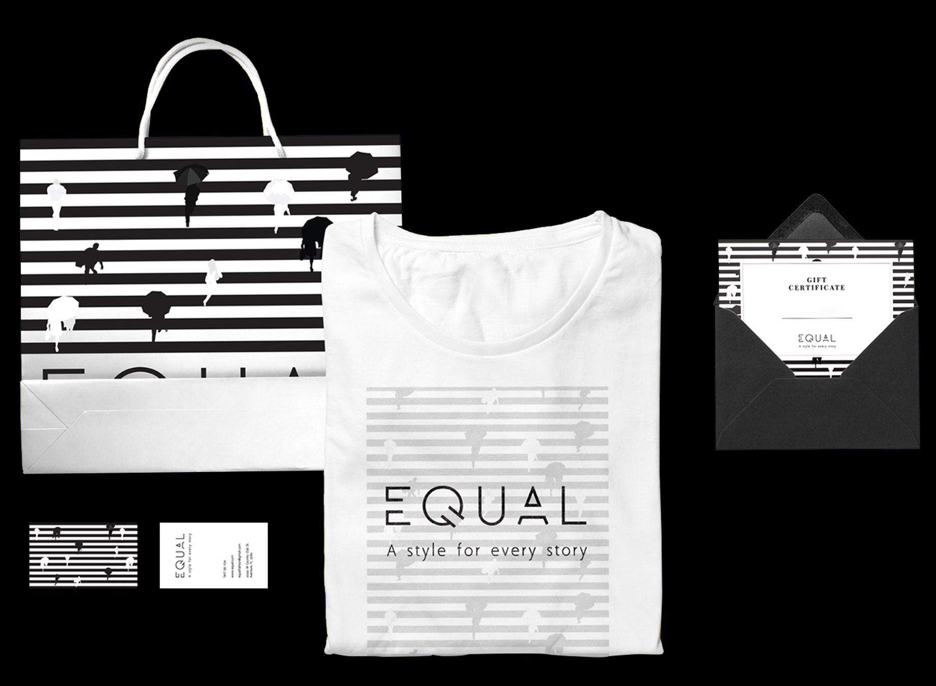 black equal deluxe graphic studio