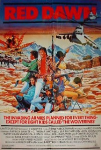 Red Dawn poster 1984 1