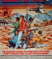This week in box office history, Crime Movies, Red Dawn