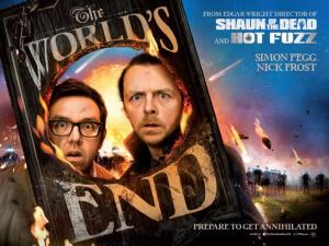 worlds end poster See It Instead:  The World's End Movie review Deluxe Video Online