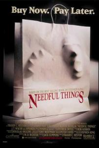 Top Ten Stephen king Films Horror movies Needful things