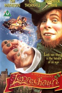 This is not even supposed to be one of his scary leprechaun movies...