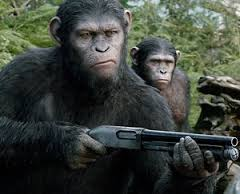 Dawn of the Planet of the Apes:  Observable Evolution