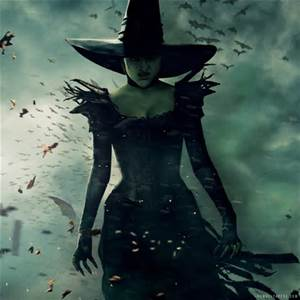 Thanks, Oz the great and powerful, The Wicked Witch really needed cleavage...