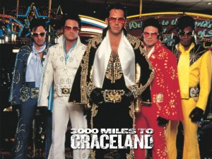 3000 Miles to Graceland see it instead - Elvis and nixon