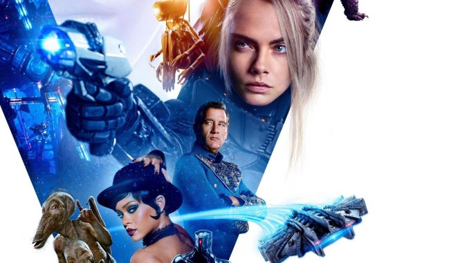 Movie Review Podcast: Valerian and the City of 1000 Planets.