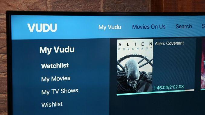 VUDU Movies on Us May 2018