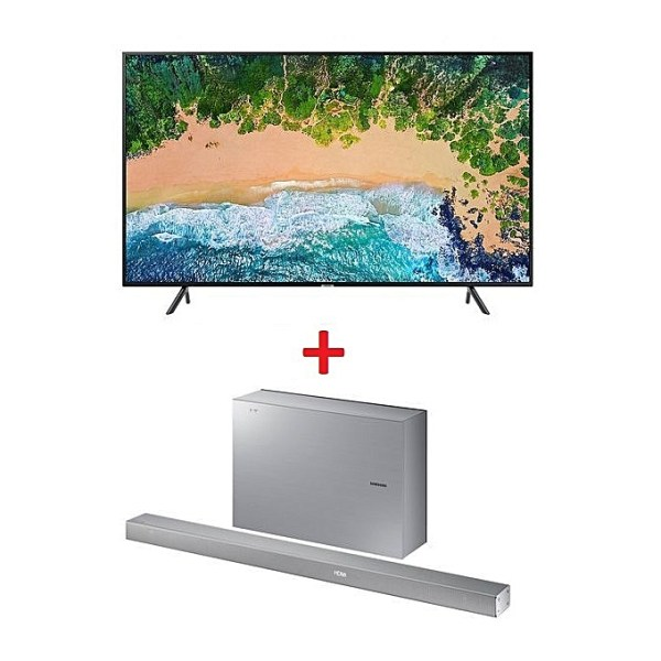 Samsung UE55NU7 UHD 4K Smart Satellite TV - 55