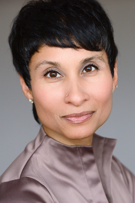 Photograph of Natasha Bakht, author of In Your Face: Law, Justice, and Niqab-Wearing Women in Canada. She is looking at the camera and smiling.