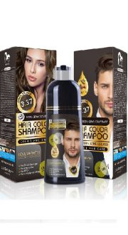 Dark brown hair dye shampoo