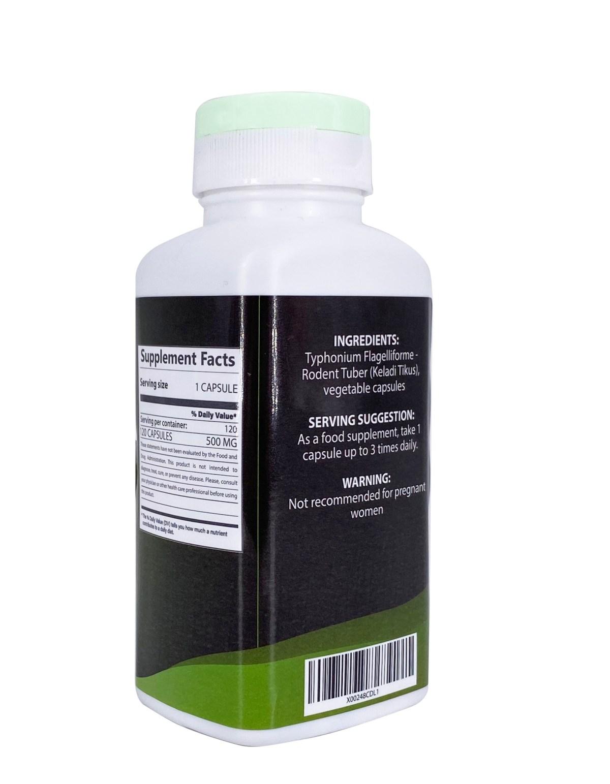 typhonium flagelliforme supplement