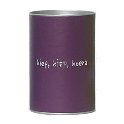 dekseldoos hoog violet