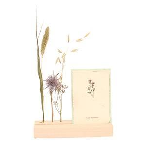 Flower &kaarthouder in beukenhout