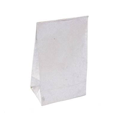 laag zakje lokta metallic zilver