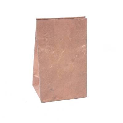 laag zakje lokta metallic brons