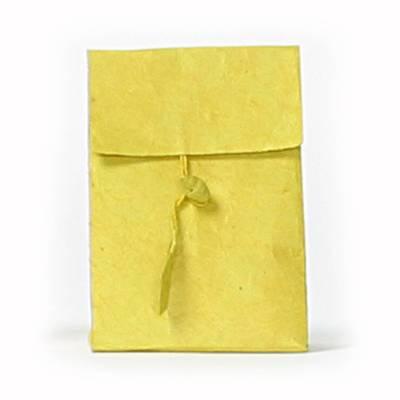 laag zakje lokta knoopje lemon green