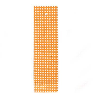hoog zakje lokta stipjes oranje