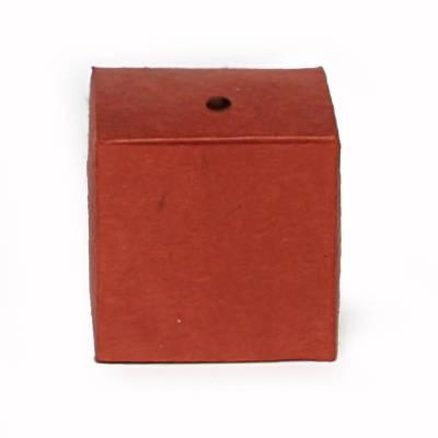 minidoosje lokta met gaatje rood