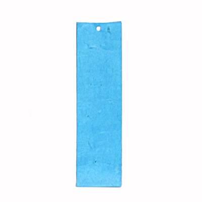 Hoog zakje lokta turquoise