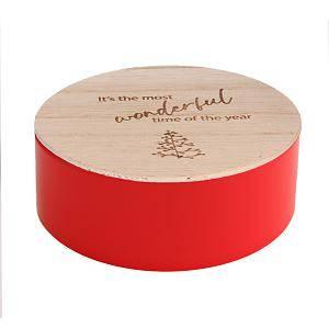 rond blikje gravure kerstliedjes it's the most...