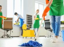 Auxiliar de servicio y limpieza