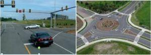 Stoplight-roundabout