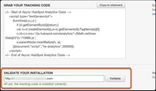 Hubspot_validate code