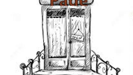Porta di entrata (con scritta)