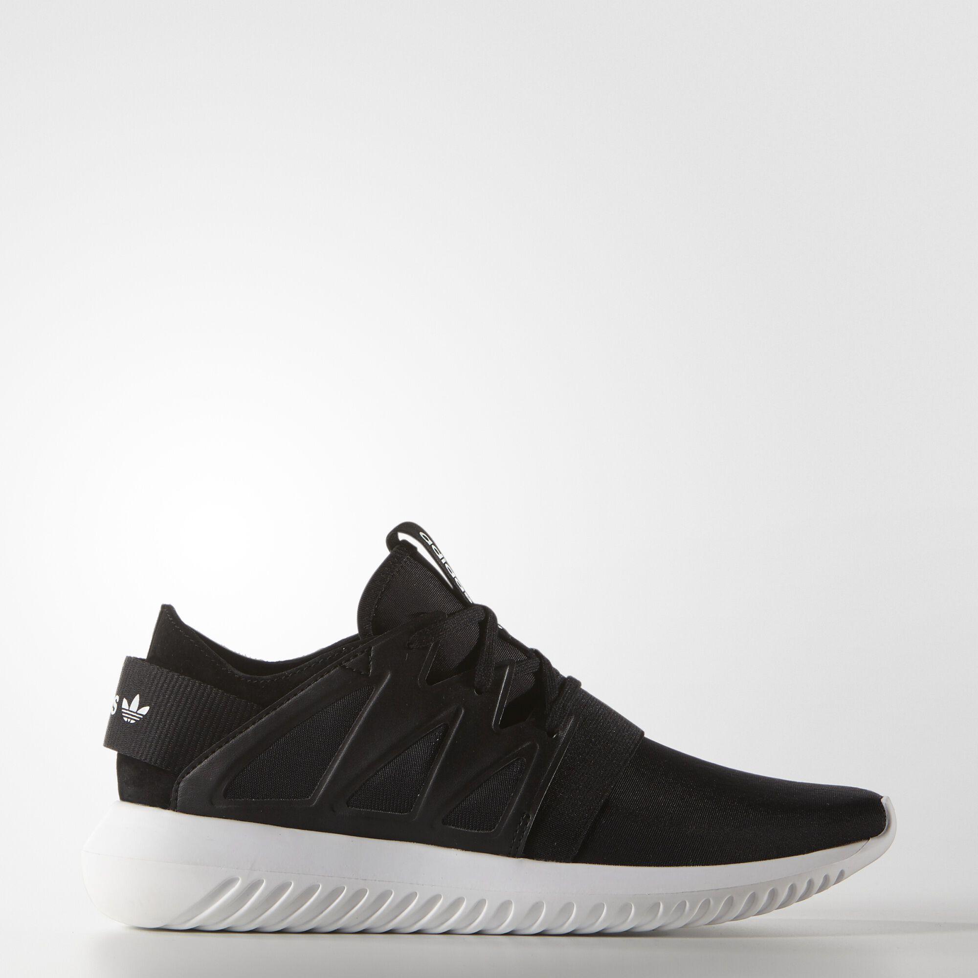adidas - Tênis Tubular Viral Feminino Core Black/Core Black/Core White S75581