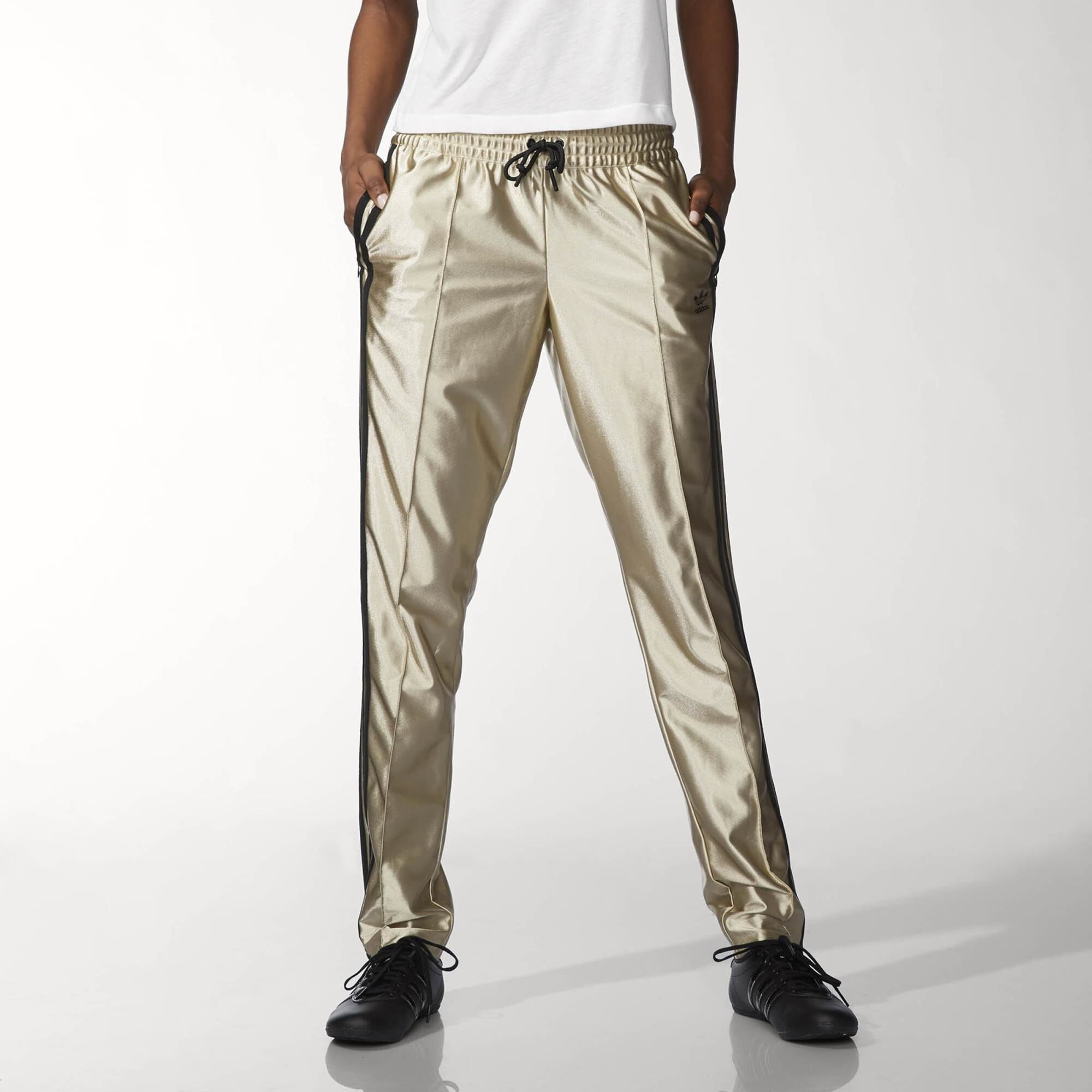 adidas Star Track Pants Cyber Metallic