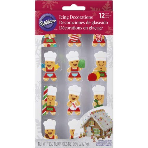Wilton Gingerbread Boy Cookie Decorating Kit Baking And