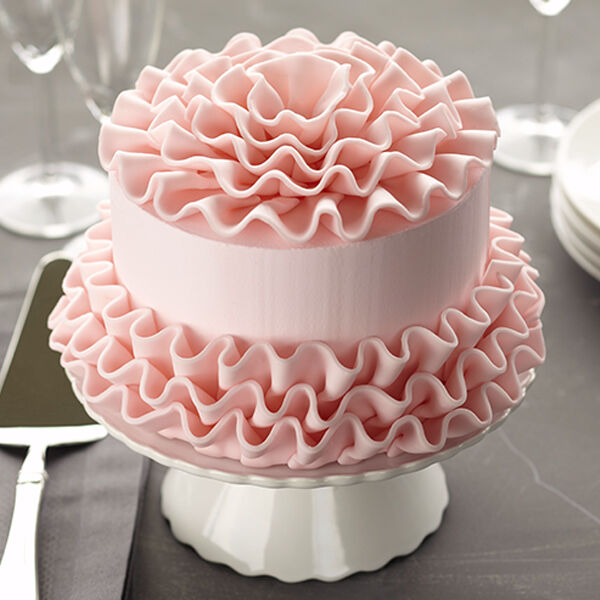 Candy Frills Cake Wilton