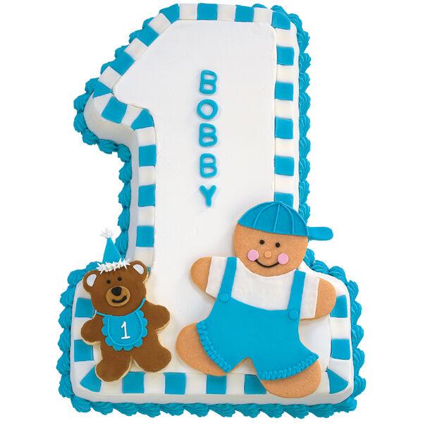 One For My Baby Boy Cake   Wilton