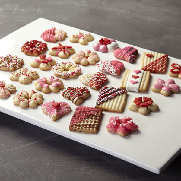 Valentines Day Spritz Cookies Wilton