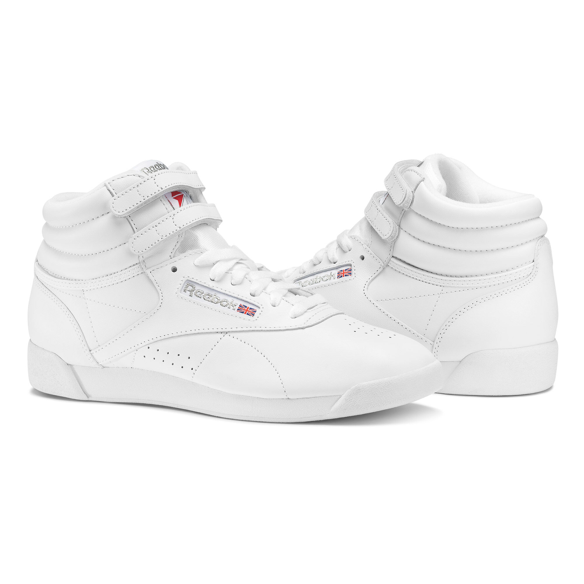 Reebok - Freestyle Hi White / Silver 2431