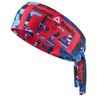 CrossFit Navy JUNK for Reebok Flex Tie Headband - OSFA