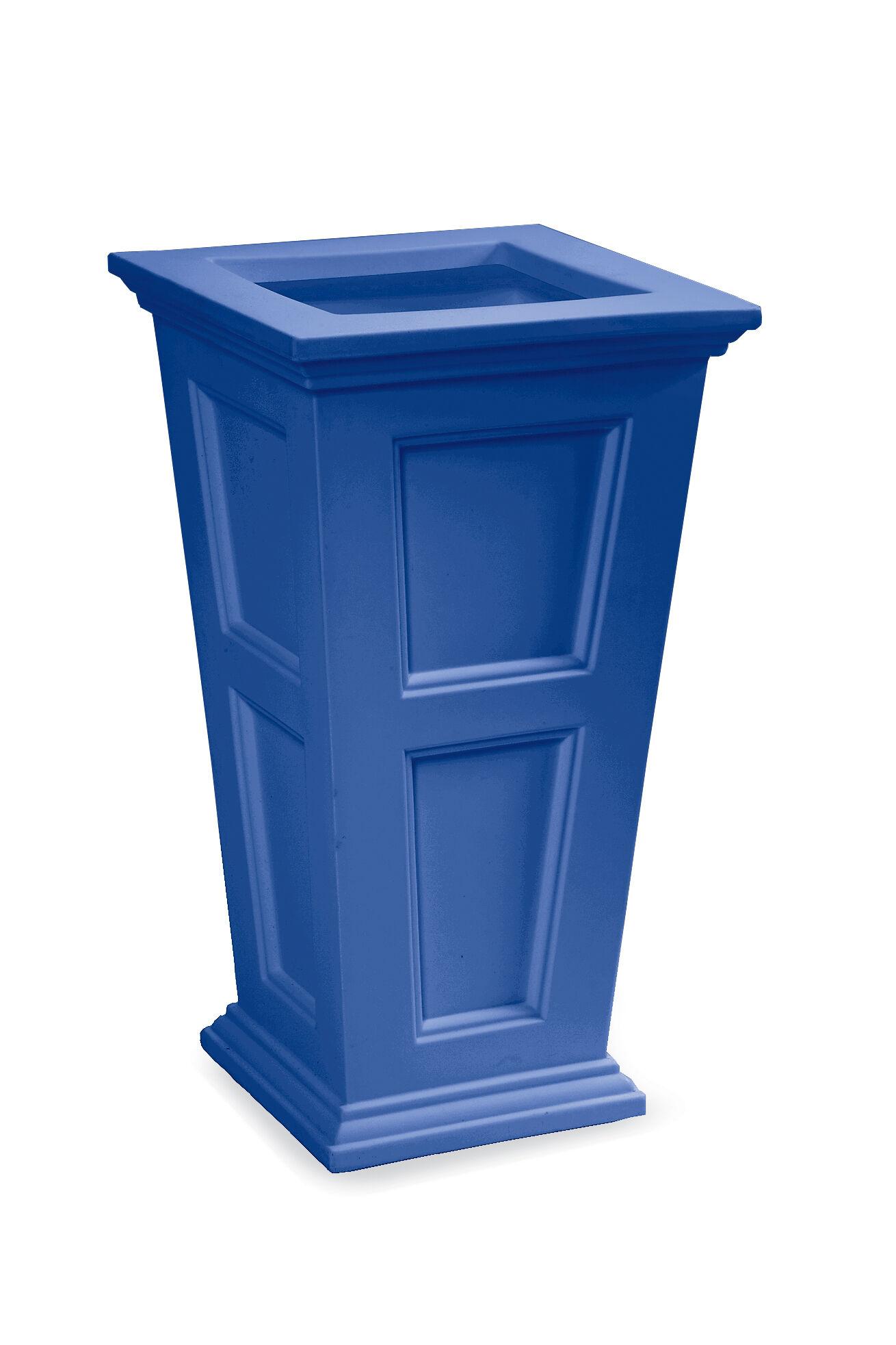 Tall Blue Planter