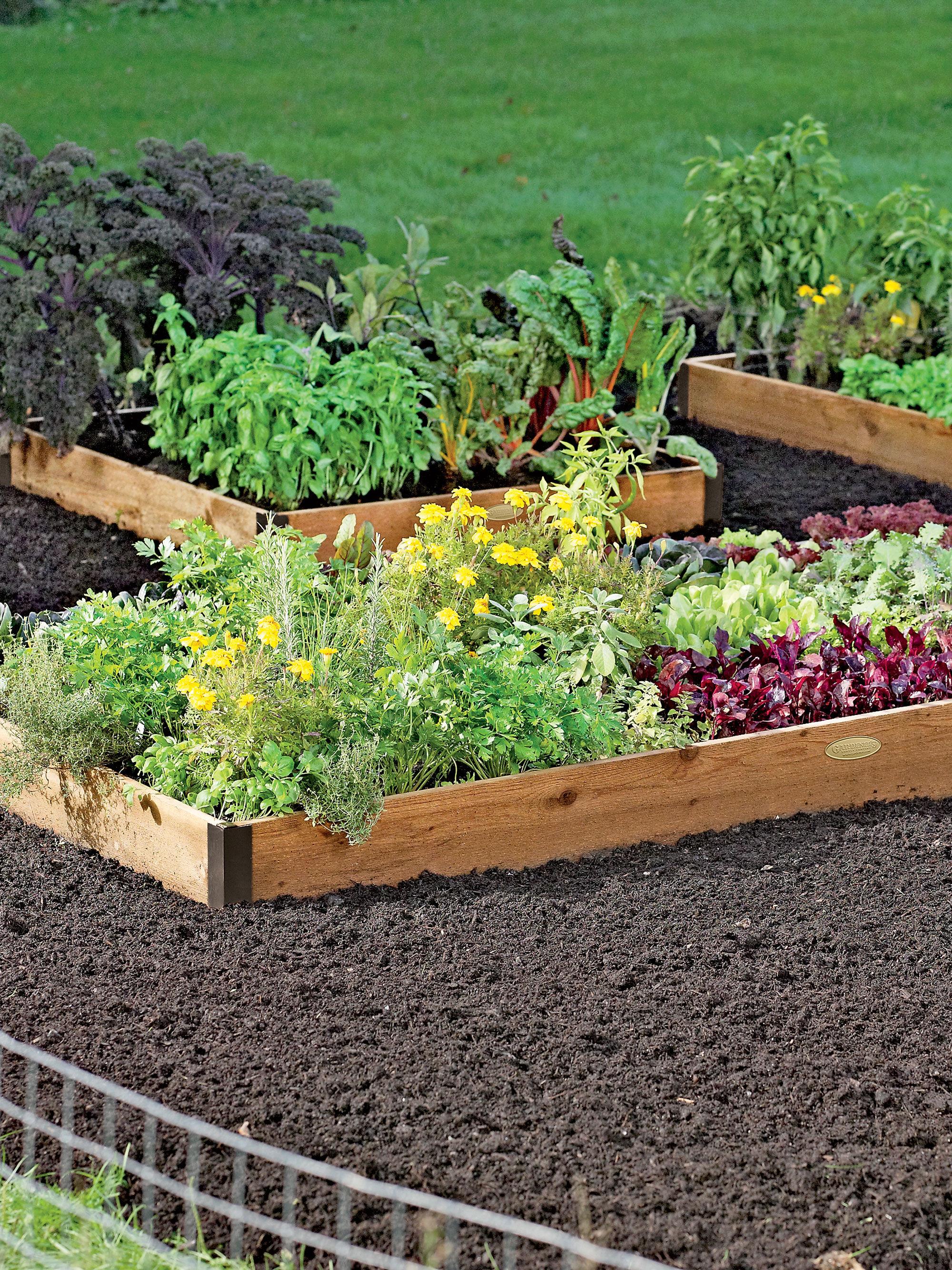 Cedar Raised Beds 3 Ft Cedar Raised Bed Garden Made