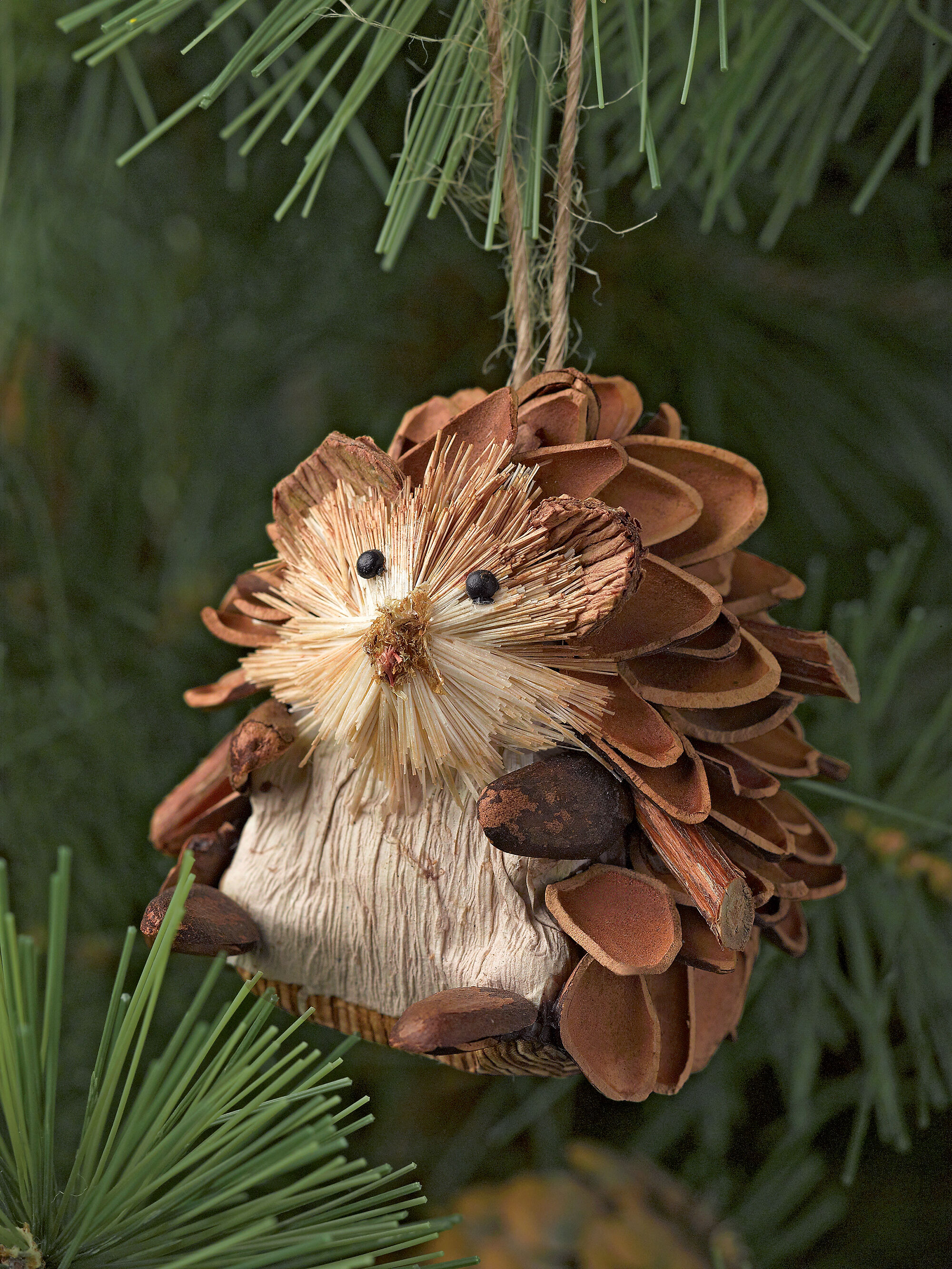 Christmas Ornaments Made Natural Materials