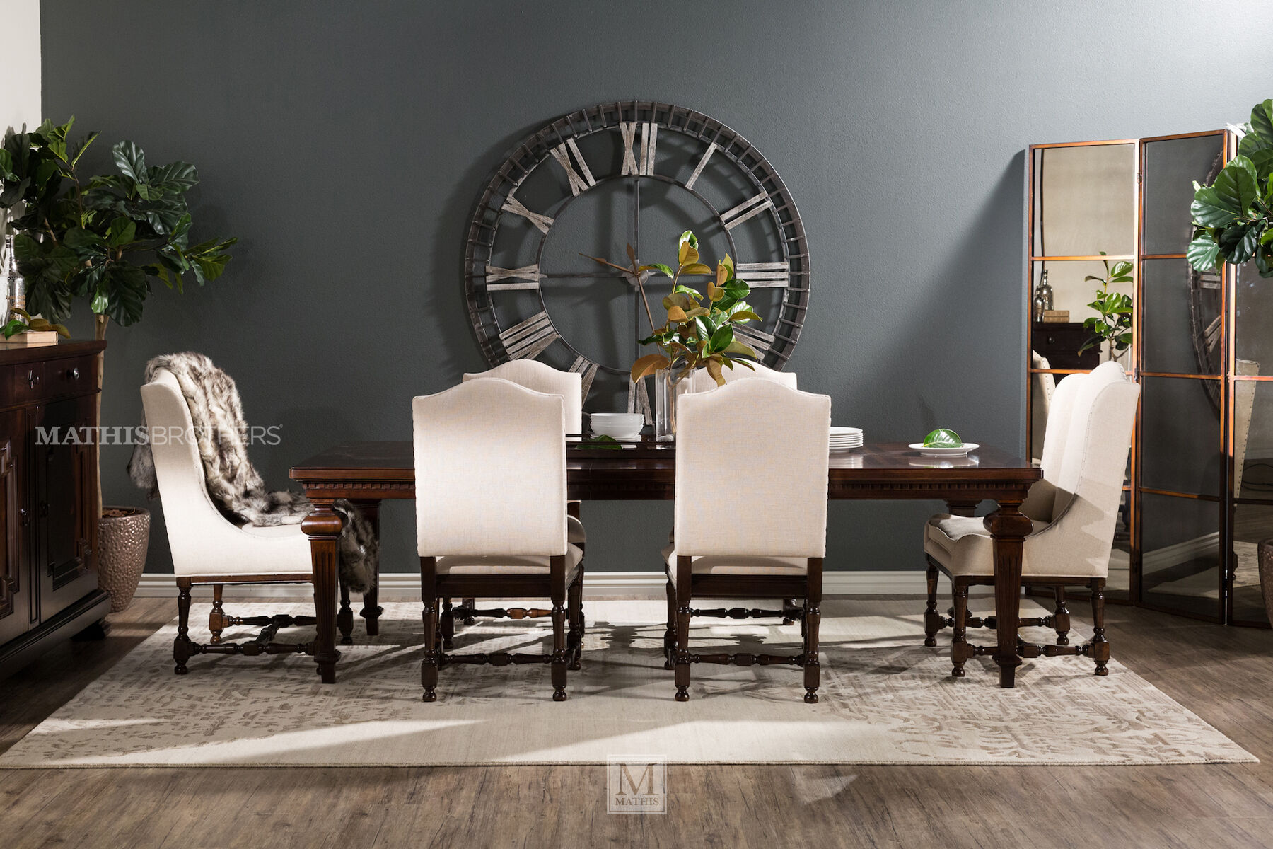 Universal Proximity Seven Piece Dining Set Mathis Brothers Furniture