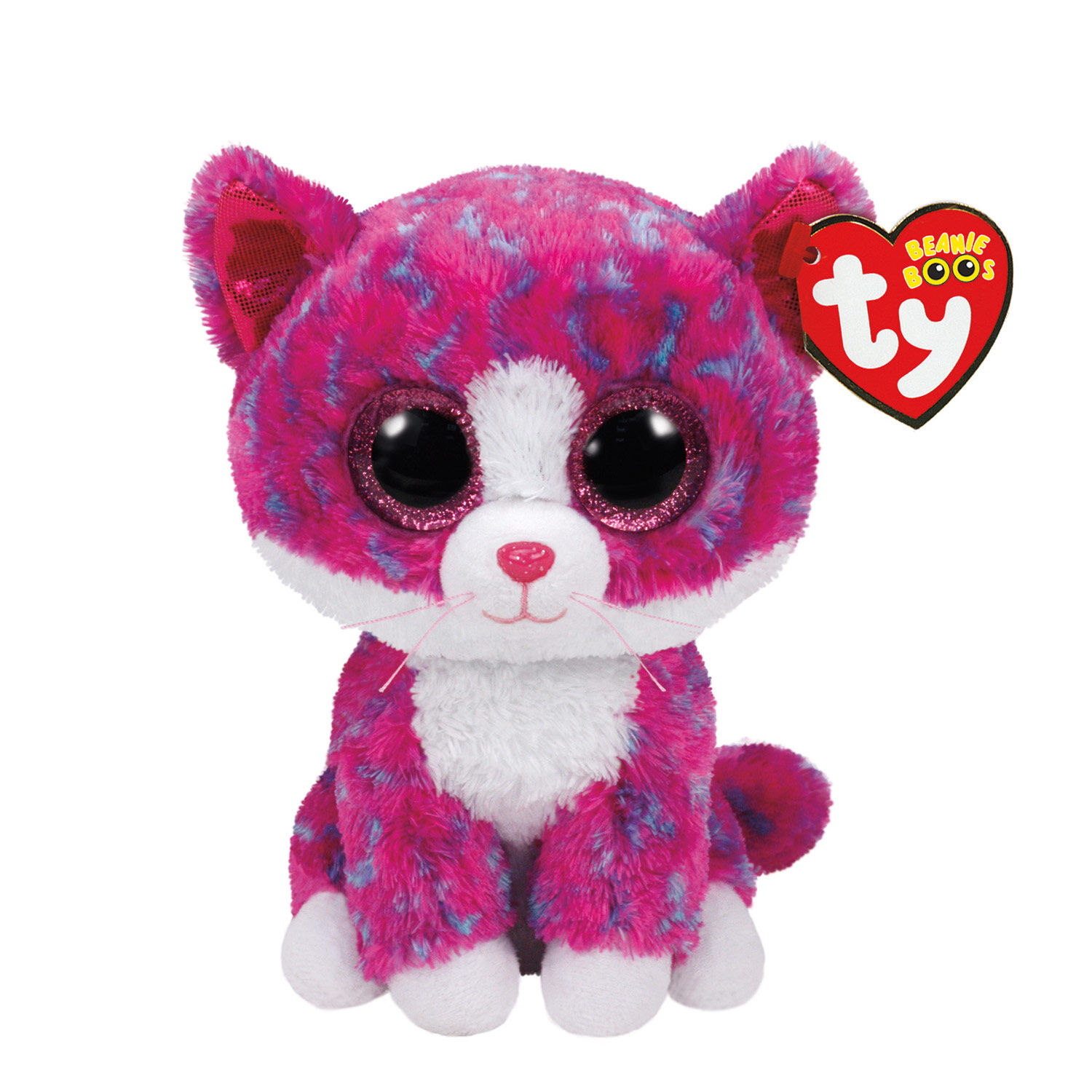 TY Beanie Boos Small Charlotte The Cat Soft Toy Claires