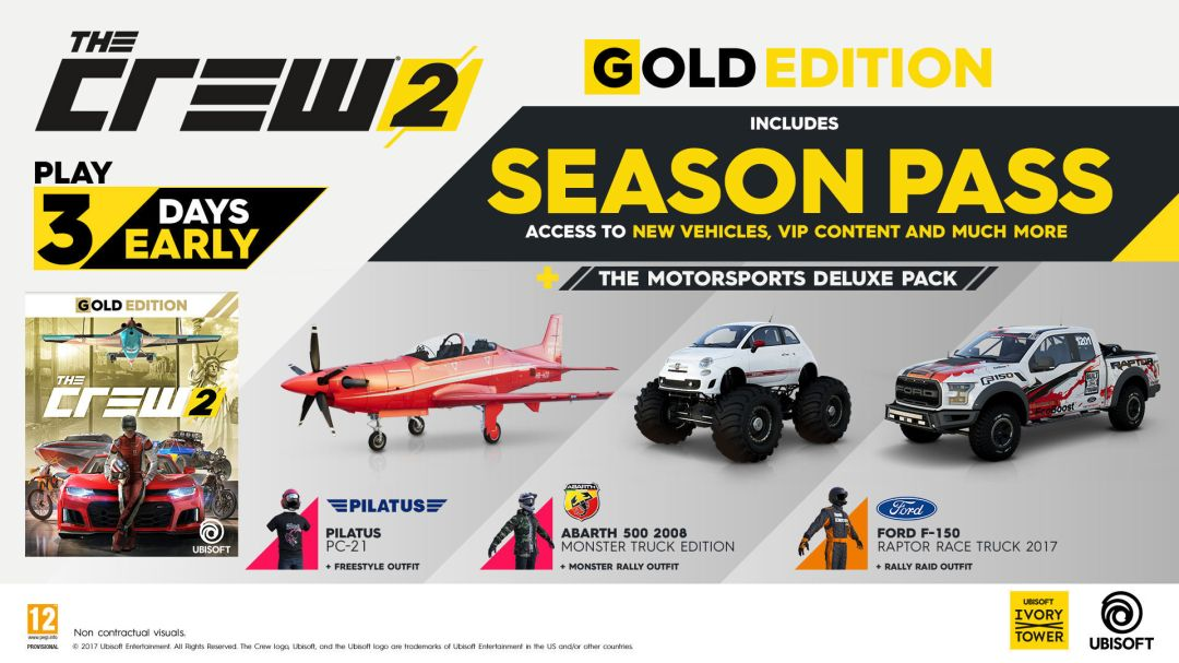 The Crew 2 Launches March 2018, New Trailer & Screenshots Revealed 12