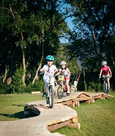 Bike Park (prebiehajú úpravy)