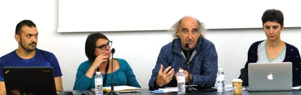 Table ronde #2 - Fabrizio Giannini, Marie-Laurence Sakaël, Marcel Escolano, Marie Bataillon