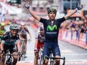 Valverde ganando Lieja Bastoña Lieja