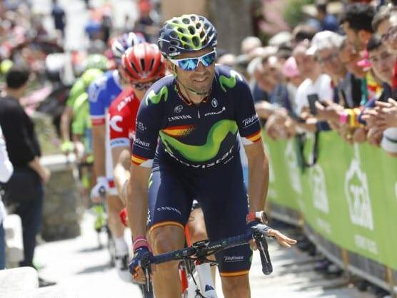 Alejandro Valverde en el Giro de Italia